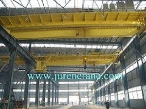 QD model double beam overhead crane