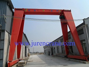 MH model single beam gantry crane