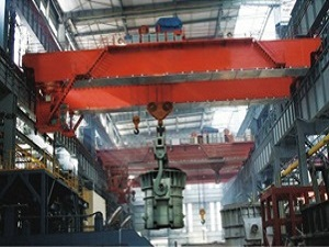 QDY model double beam foundry overhead crane